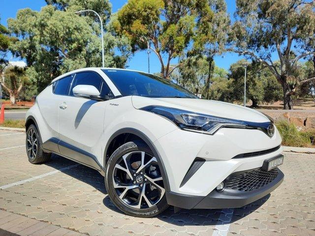 Used Toyota C-HR NGX10R Koba S-CVT 2WD Adelaide, 2018 Toyota C-HR NGX10R Koba S-CVT 2WD White 7 Speed Constant Variable Wagon