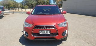 2016 Mitsubishi ASX XC MY17 LS 2WD Red 6 Speed Constant Variable Wagon