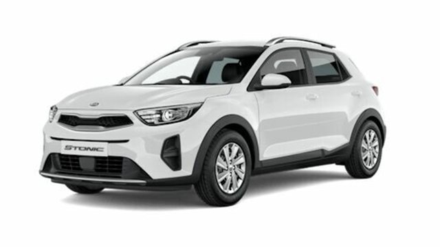 New Kia Stonic YB MY21 S FWD St Marys, 2021 Kia Stonic YB MY21 S FWD Clear White 6 Speed Automatic Wagon