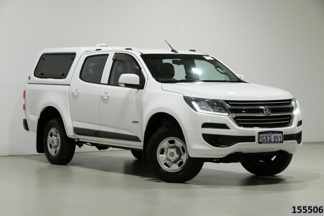 Used Holden Colorado RG MY17 LS (4x2) Bentley, 2017 Holden Colorado RG MY17 LS (4x2) White 6 Speed Automatic Crew Cab Pickup