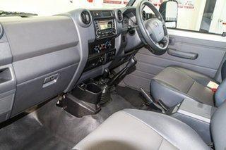 2018 Toyota Landcruiser VDJ76R MY18 Workmate (4x4) French Vanilla 5 Speed Manual Wagon