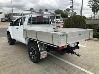 2014 Isuzu D-MAX MY15 SX Space Cab White 5 Speed Manual Cab Chassis
