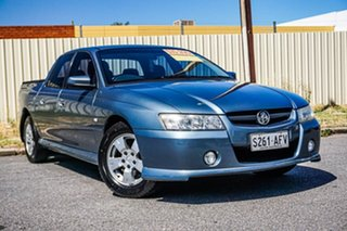 2005 Holden Crewman VZ S Blue 4 Speed Automatic Utility.