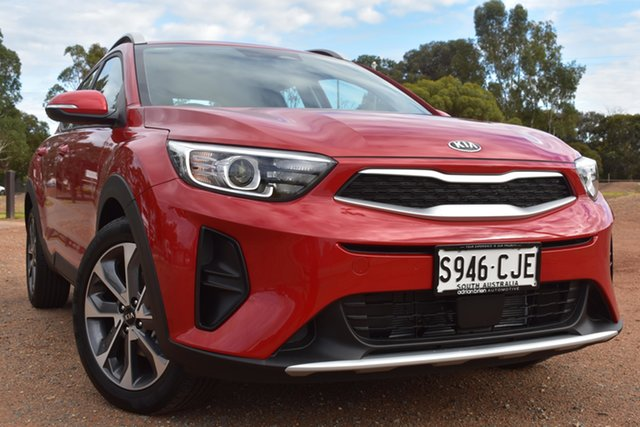 Demo Kia Stonic YB MY21 Sport FWD St Marys, 2021 Kia Stonic YB MY21 Sport FWD Signal Red 6 Speed Automatic Wagon