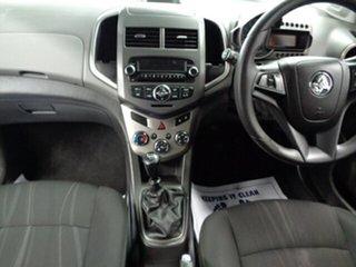 2012 Holden Barina TM MY13 CD Blue 5 Speed Manual Hatchback
