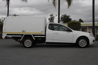 2012 Ford Falcon FG MkII EcoLPi Ute Super Cab White 6 Speed Sports Automatic Utility