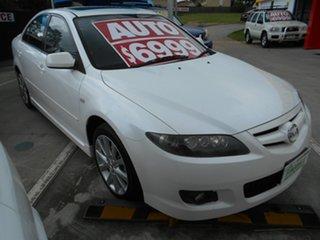 2006 Mazda 6 GG1032 Luxury White 5 Speed Sports Automatic Hatchback.