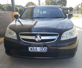 2007 Holden Epica EP CDX Black 5 Speed Automatic Sedan.