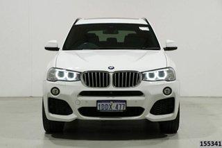 2017 BMW X3 G01 xDrive30d M Sport White 8 Speed Automatic Wagon.