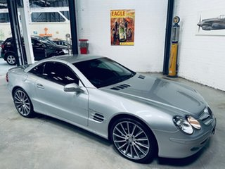 2003 Mercedes-Benz SL-Class R230 SL500 Silver 5 Speed Sports Automatic Roadster