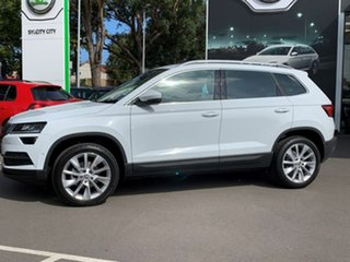 2020 Skoda Karoq NU MY21 110TSI FWD White 8 Speed Automatic Wagon