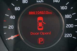 2012 Kia Rio UB MY12 SI White 6 Speed Sports Automatic Sedan
