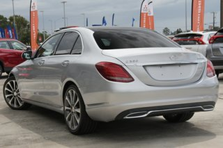 2014 Mercedes-Benz C-Class W205 C250 BlueTEC 7G-Tronic + Silver 7 Speed Sports Automatic Sedan.