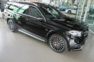2016 Mercedes-Benz GLS-Class X166 GLS63 AMG SPEEDSHIFT PLUS 4MATIC Black 7 Speed
