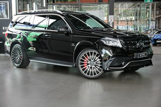 2016 Mercedes-Benz GLS-Class X166 GLS63 AMG SPEEDSHIFT PLUS 4MATIC Black 7 Speed.