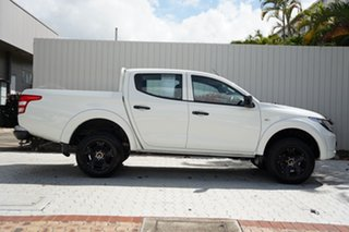2018 Mitsubishi Triton MQ MY18 GLX Double Cab White 5 Speed Sports Automatic Utility