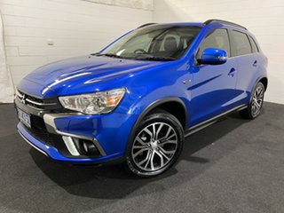2018 Mitsubishi ASX XC MY18 LS 2WD ADAS Blue 1 Speed Constant Variable Wagon