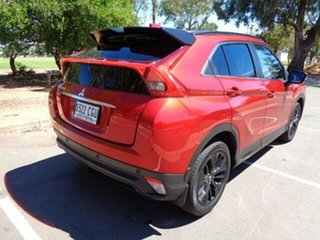 2020 Mitsubishi Eclipse Cross YA MY20 Black Edition 2WD Red 8 Speed Constant Variable Wagon.