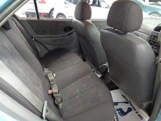 2005 Hyundai Accent LC MY04 GL Blue 5 Speed Manual Hatchback
