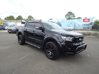 2019 Ford Ranger PX MkIII 2019.00MY Wildtrak Shadow Black 6 Speed Automatic Double Cab Pick Up.
