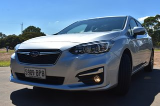 2017 Subaru Impreza G5 MY17 2.0i Premium CVT AWD Silver 7 Speed Constant Variable Hatchback
