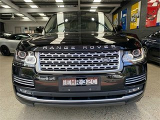 2013 Land Rover Range Rover L405 Vogue SE Black Sports Automatic Wagon.