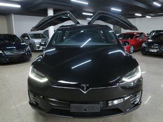 2019 Tesla Model X 75D AWD Black 1 Speed Reduction Gear Wagon
