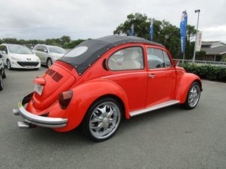 1976 Volkswagen Beetle 1600 L Orange 4 Speed Manual Sedan