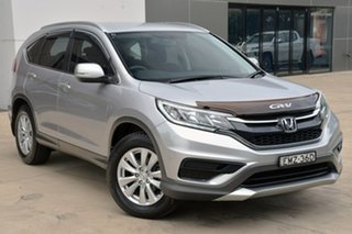 2015 Honda CR-V RM Series II MY16 VTi Silver 6 Speed Manual Wagon.