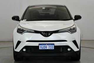 2018 Toyota C-HR NGX50R Koba S-CVT AWD White 7 Speed Constant Variable Wagon.