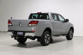 2017 Mazda BT-50 MY17 Update GT (4x4) Silver 6 Speed Automatic Dual Cab Utility