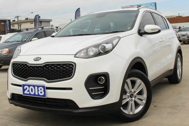 Used Kia Sportage QL MY18 Si 2WD Coburg North, 2018 Kia Sportage QL MY18 Si 2WD White 6 Speed Sports Automatic Wagon