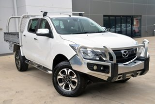 2015 Mazda BT-50 UR0YF1 GT White 6 Speed Sports Automatic Utility.