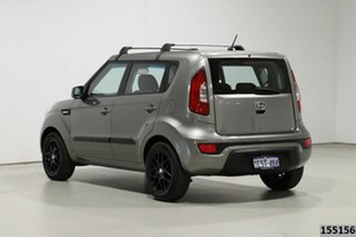 2013 Kia Soul AM MY12 Silver 6 Speed Manual Hatchback