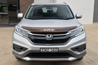 2015 Honda CR-V RM Series II MY16 VTi Silver 6 Speed Manual Wagon