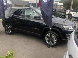 2020 Jeep Compass M6 MY20 Limited Brilliant Black Crystal Pearl 9 Speed Automatic Wagon
