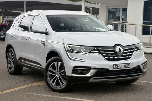 Used Renault Koleos HZG Zen X-tronic North Gosford, 2019 Renault Koleos HZG Zen X-tronic White 1 Speed Constant Variable Wagon