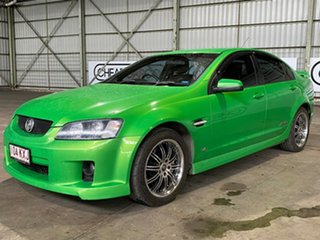 2008 Holden Commodore VE MY09 SS Green 6 Speed Manual Sedan.