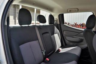2018 Mitsubishi Triton MQ MY18 GLX Double Cab White 5 Speed Sports Automatic Utility
