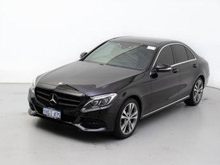 2015 Mercedes-Benz C200 205 Black 7 Speed Automatic Sedan