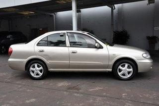 2005 Nissan Pulsar N16 MY2004 ST-L Bronze 4 Speed Automatic Sedan.