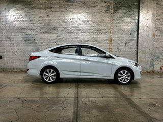 2018 Hyundai Accent RB6 MY18 Sport White 6 Speed Sports Automatic Sedan