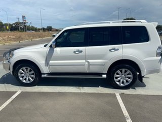 2010 Mitsubishi Pajero NT MY10 Exceed White 5 Speed Sports Automatic Wagon