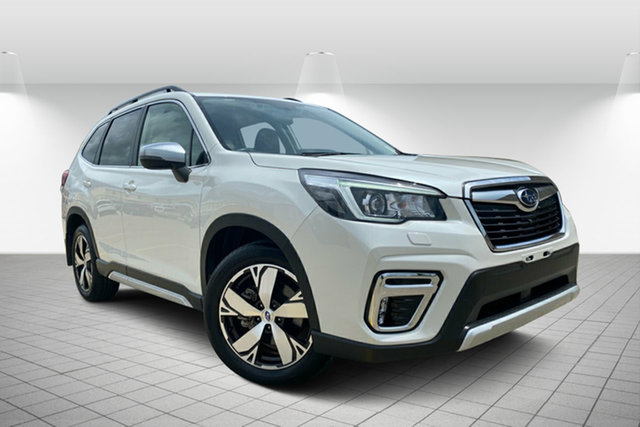 Used Subaru Forester S5 MY19 2.5i-S CVT AWD Hervey Bay, 2019 Subaru Forester S5 MY19 2.5i-S CVT AWD White 7 Speed Constant Variable Wagon