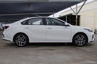 2020 Kia Cerato BD MY21 Sport+ Clear White 6 Speed Sports Automatic Sedan.