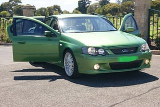 2004 Ford Falcon BA MkII XR8 Green 4 Speed Auto Seq Sportshift Sedan