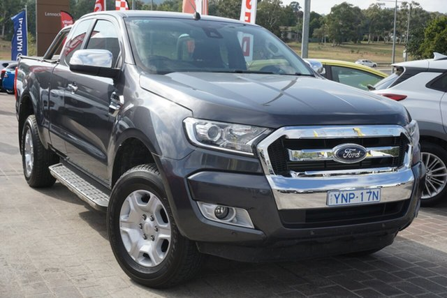 Used Ford Ranger PX MkII 2018.00MY XLT Super Cab Phillip, 2018 Ford Ranger PX MkII 2018.00MY XLT Super Cab Grey 6 Speed Sports Automatic Utility