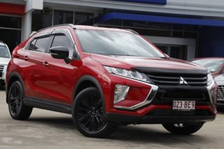 2020 Mitsubishi Eclipse Cross YA MY20 Black Edition 2WD Red Diamond 8 Speed Constant Variable Wagon.