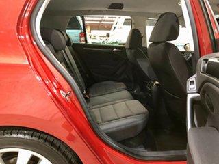 2009 Volkswagen Golf VI 103TDI DSG Comfortline Red 6 Speed Sports Automatic Dual Clutch Hatchback