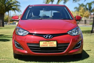 2014 Hyundai i20 PB MY14 Active Red 4 Speed Automatic Hatchback.